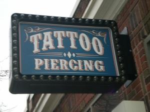 Steady Tattoo's New Sign