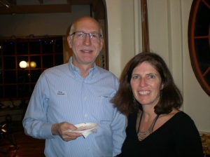 Jim Welna and new SCCA Board Member Kerry Caashman