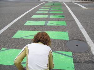 Crosswalk calming