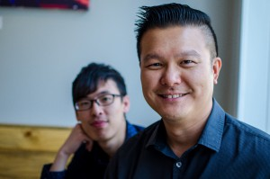 Peter Chen and Lawrence Tan of Encore Karaoke & Sushi Lounge