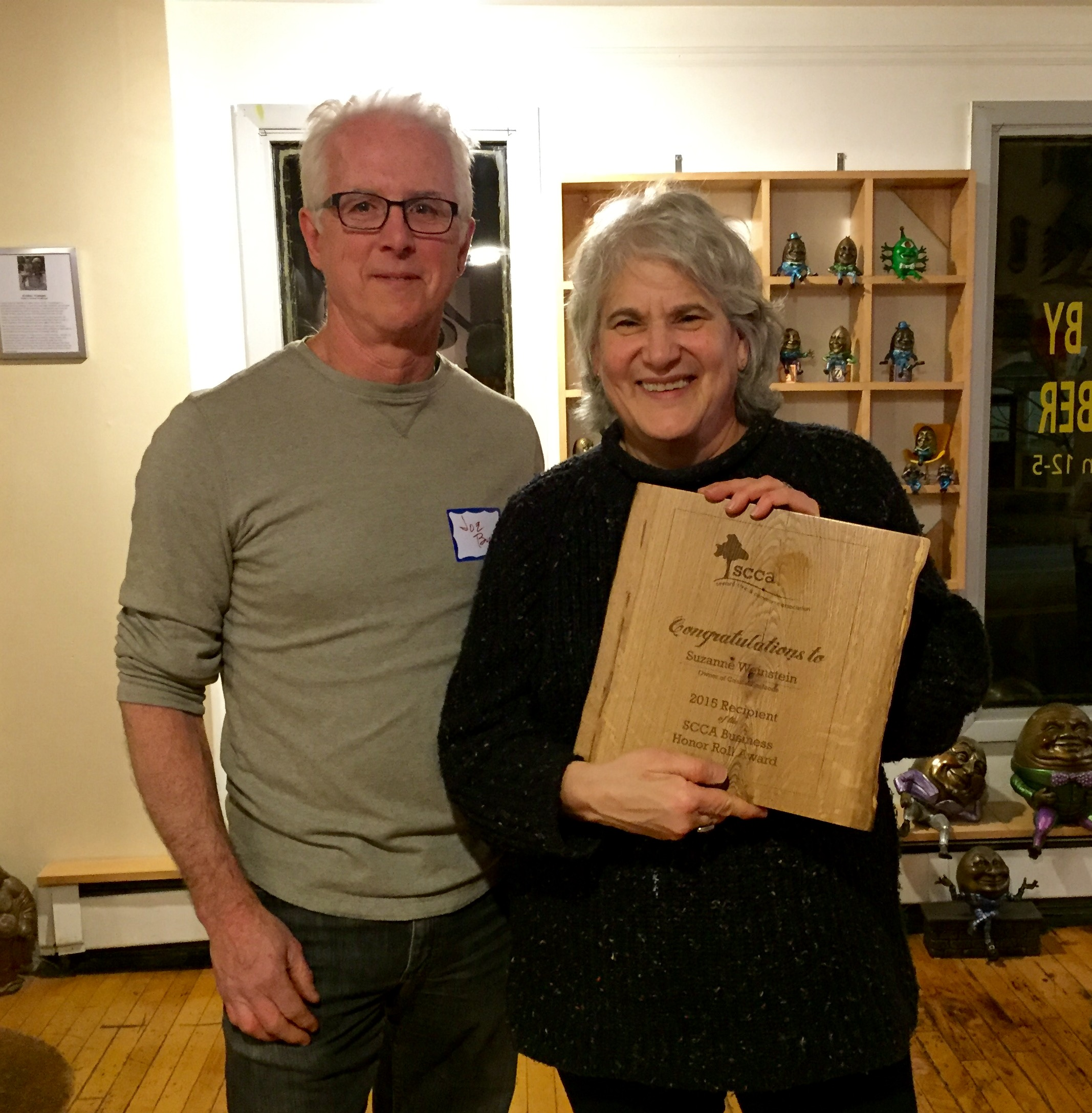 Honor Roll Award Suzanne Weinstein Coastal Seafoods