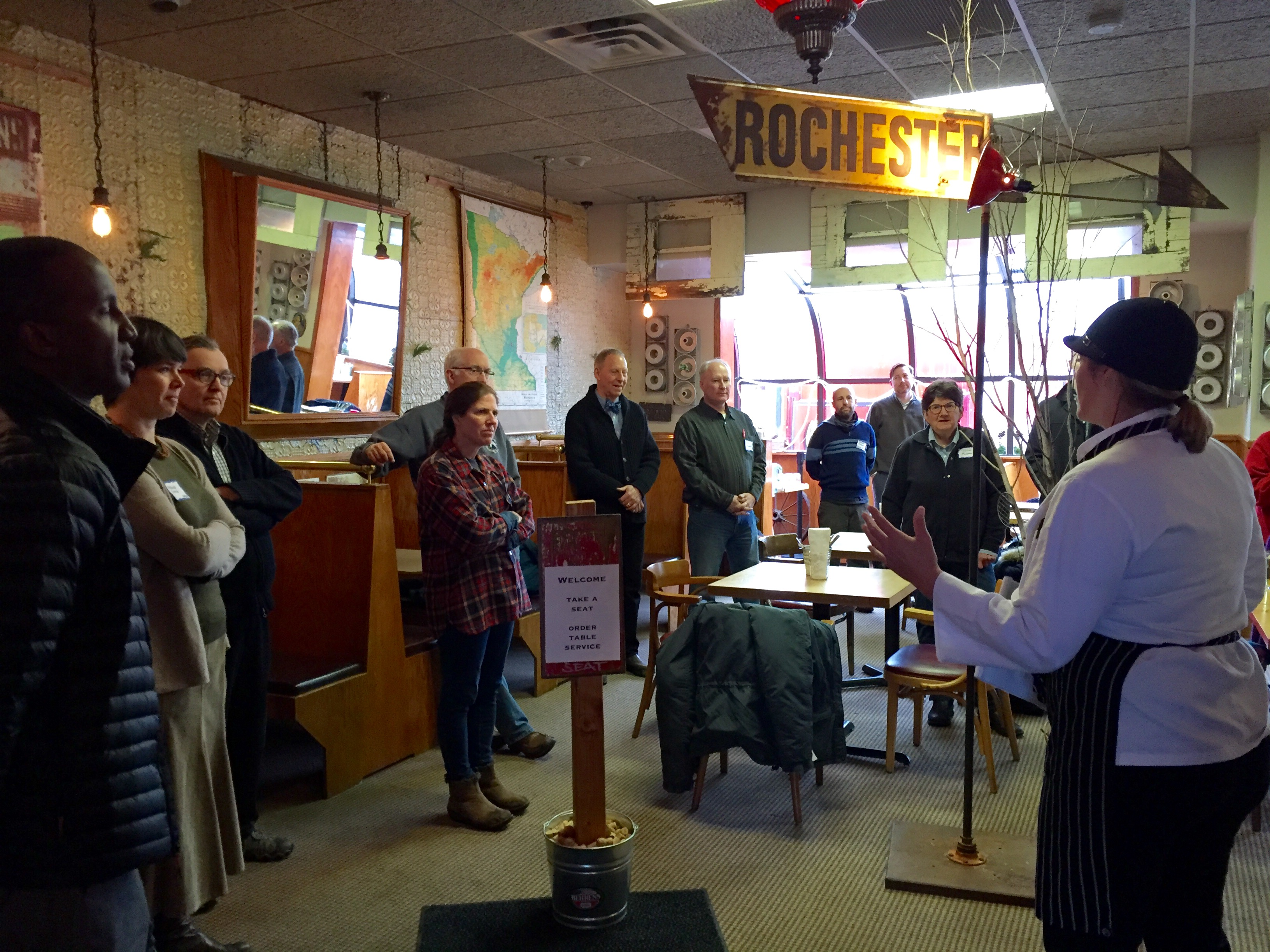 SCCA Jan 2016 meeting at Chef Shack
